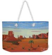 Monument Valley Lone Tree Weekender Tote Bag