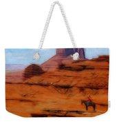 Monument Valley Pastel Weekender Tote Bag