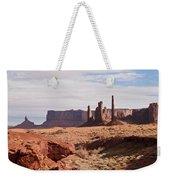 Monument Valley Totem Pole Weekender Tote Bag