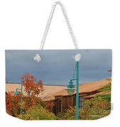 Moody Sky On Copper Weekender Tote Bag