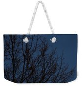 Moon And Trees Weekender Tote Bag