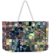 Moon Bath Geometric Splash Weekender Tote Bag