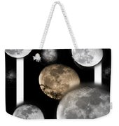 Moon From The Country Weekender Tote Bag