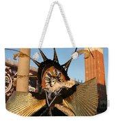 Moon Goddess At Tower Weekender Tote Bag