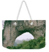 Moon Hill In Guangxi In China Weekender Tote Bag