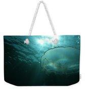 Moon Jelly Aurora Weekender Tote Bag