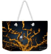 Moon Light And Tree Weekender Tote Bag