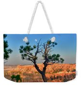 Moon Over Bryce Canyon Weekender Tote Bag