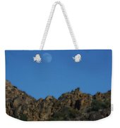 Moon Rise Joshua Tree Weekender Tote Bag