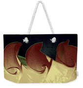 Moon Waves Weekender Tote Bag