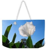 Moonflower Rising Weekender Tote Bag