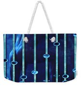 Moonlight Blue Weekender Tote Bag