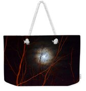 Moonlight By The Camp Fire Weekender Tote Bag