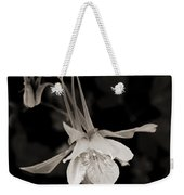 Moonlight Columbine Weekender Tote Bag