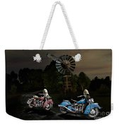 Moonlight Indian Chief Weekender Tote Bag