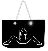 Moonlight Romance Weekender Tote Bag