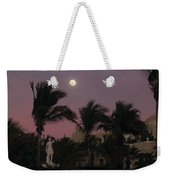 Moonlit Resort Weekender Tote Bag