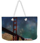 Moonrise Over The Golden Gate Weekender Tote Bag