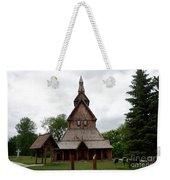 Moorhead Stave Church 1 Weekender Tote Bag