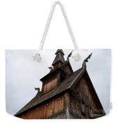 Moorhead Stave Church 11 Weekender Tote Bag