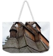Moorhead Stave Church 8 Weekender Tote Bag