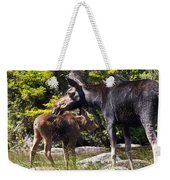 Moose Brunch Weekender Tote Bag