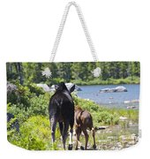 Moose Ends Baxter State Park Maine Weekender Tote Bag