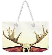 Moose Trophy Weekender Tote Bag