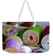More Loose Threads Weekender Tote Bag