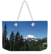 More Mt Rainier Weekender Tote Bag
