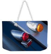 Morgan Plus 8 Tail Lights Weekender Tote Bag