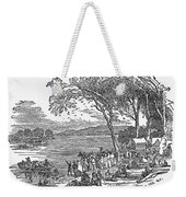 Mormon Flight, 1833 Weekender Tote Bag by Granger