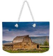 Mormon Row Barn 2 Weekender Tote Bag