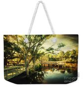 Morning At The Harbor Park Weekender Tote Bag