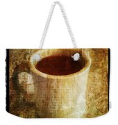 Morning Coffee Weekender Tote Bag