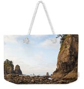 Morning Columns Weekender Tote Bag