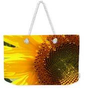 Morning Dew On Sunflower Weekender Tote Bag