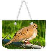 Morning Dove II Photoart Weekender Tote Bag