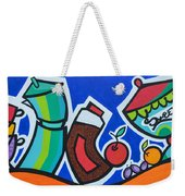 Morning Energy Weekender Tote Bag
