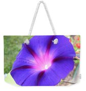 Morning Glory Fire Weekender Tote Bag