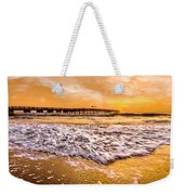 Morning Gold Rush Weekender Tote Bag