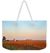 Morning In The Heartland Watercolor Photoart II Weekender Tote Bag