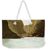 Morning Light On The Pacific Weekender Tote Bag