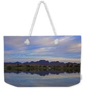 Morning Light On The River Weekender Tote Bag