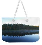 Morning Mist At Haukkajarv Weekender Tote Bag