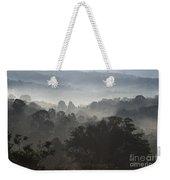 Morning Mist In Panama's Highlands Weekender Tote Bag