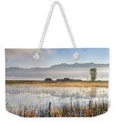 Morning Mists Of Cutler Marsh - Utah Weekender Tote Bag