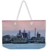 Morning On The Delaware River Weekender Tote Bag