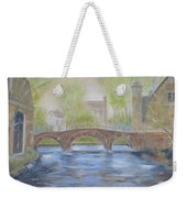 Morning On The Meuse Weekender Tote Bag