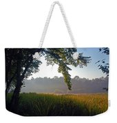Morning On The River Weekender Tote Bag